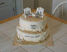 Beach Cake #cakesbymeg