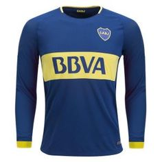 2017 LS Jersey Boca Juniors Home Replica Blue Shirt [BFC299] #futbolbocajuniors