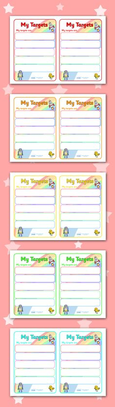 Twinkl Resources >> Editable Target/Learning Objective Book Labels >> Printable resources for Primary, EYFS, KS1 and SEN.  Thousands of classroom displays and teaching aids! Class Management, Targets, Labels
