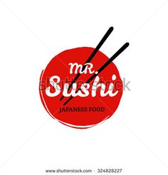 Find Sushi Logo Vector stock images in HD and millions of other royalty-free stock photos, illustrations and vectors in the Shutterstock collection. Baking Logo Design, Food Logo Design, Logo Food, Sign Design, Japanese Logo, Japanese Graphic Design, Restaurant Branding, Restaurant Design, Logo Sushi