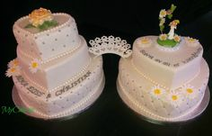 Cake 5 Layers, Wedding Cakes, Facebook, Desserts, Food, Wedding Gown Cakes, Meal, Wedding Pie Table, Deserts