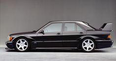Ten Classic Cars You Need to Import Now! - Mercedes-Benz 190E 2.5 16 EVO II http://www.petrolicious.com/ten-classic-cars-you-need-to-import-now