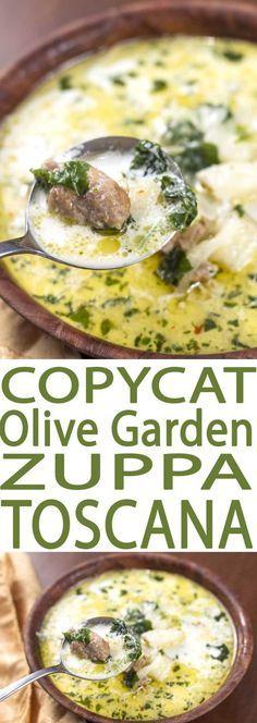 best olive garden soup copycat recipe