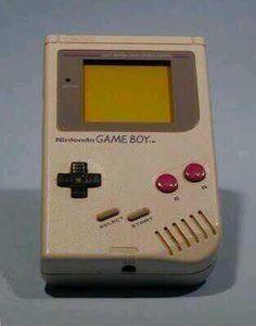 El primer Game Boy de la historia.