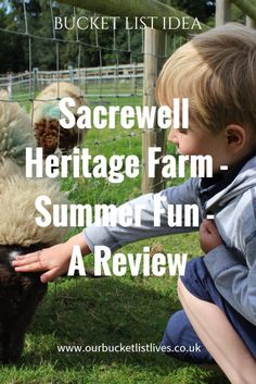 Sacrewell Heritage Farm, near Peterborough. Summer fun and day out review. Day out UK