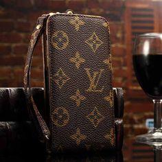 Louis Vuitton iPhone 6 Case Folio Cover Monogram Brown