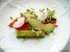 Delicious blog: Čerstvé jarní závitky Avocado Toast, Breakfast, Blog, Paper, Morning Coffee, Blogging