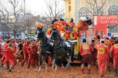 Battle of the Oranges | The 10 Most Insane Festivals Around The World