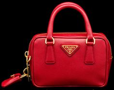 Prada Extra Mini Saffiano Bag