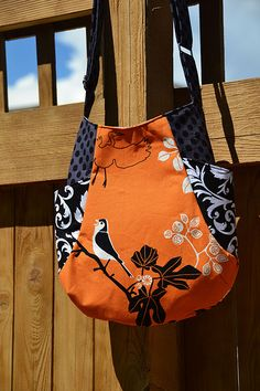 Another one for Tammy's Mom - Could easily add a flap & it has side pockets :)