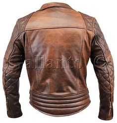 Details about Classic Diamond Motorcycle Biker Brown Distressed Vintage Leather Jacket Armour – Leather Style Suede Leather Jacket, Classic Leather Jacket, Distressed Leather Jacket, Vintage Leather Jacket, Biker Leather, Lambskin Leather, Leather Men, Brown Leather, Leather Jackets