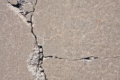 Q: We just bought a new house and we love it, but the driveway has a few cracks and I'd really like to fix them. Is repairing a cracked driveway a do-it-yourself job, or will I need to hire a… Repair Concrete Driveway, Diy Driveway, Concrete Steps, Concrete Driveways, Concrete Projects, Concrete Patio, Stained Concrete Driveway, Concrete Floors, Concrete Filler