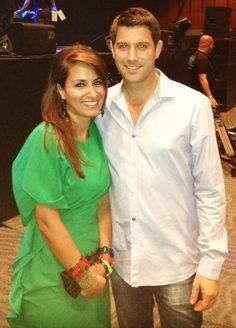 Sébastien Izambard and I <3 Il Divo Live in Dubai - October 5, 2012