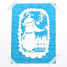 So Fofo - Snow White- Paper Cut Out, $28.00 (http://www.sofofo.com.au/snow-white-paper-cut-out/)