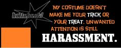 Facebook cover art courtesy of HollabackDSM. Here's to a happy HOLLAween 2012, free from street harassment!