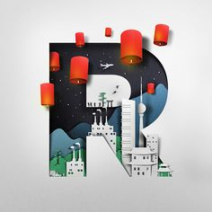 RMB (by Eiko Ojala) Commissioned illustration for HSBC.