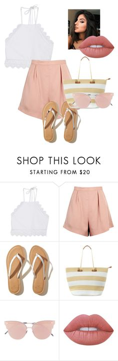 """Untitled #478"" by pizza-lover02 ❤ liked on Polyvore featuring Front Row Shop, Finders Keepers, Hollister Co., Phase Eight, So.Ya and Lime Crime"