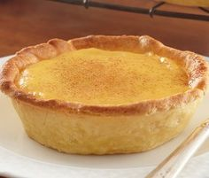 Custard Tarts: A classic British dessert, the custard tart is so simple: velvety custard sprinkled with cinnamon.