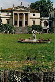 Facciata della Villa Da Porto - Dueville by sangiopanza2000