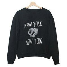 New York, New York Skull Sweater - Skullsy - 1