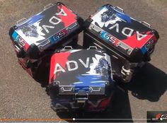 3 x Pannier Boxes Storm R1250 750 850 R1200GS ADV Protector Cover Stic – sooydoor Gs 1200 Adventure, Decal, Sticker, Perfect Fit, Boxes, Design, Crates, Stickers