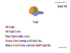 Kindergarten Reading Activities, Reading Worksheets, Preschool Learning Activities, Kids Learning, Malay Language, School Items, Learn To Read, Reading Comprehension, Homeschool