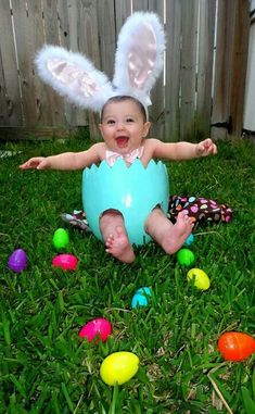 Baby Easter pic eggs