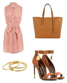 """Top trending lunch date 9/12/15"" by stellstell on Polyvore featuring Equipment, Tom Ford, Michael Kors and Gorjana"