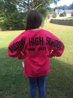 Cutsom Spirit Jersey. only $40.99! Get one for just yourself, or have matching ones done for your whole team!