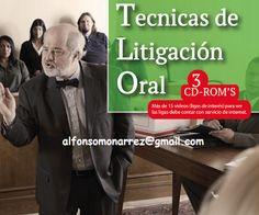 LIBROS EN DERECHO: TÉCNICAS DE LITIGACIÓN ORAL