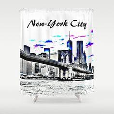 Bathroom Accessories New York City design 47 cityscape skyline bath mat - #bathroom #accessories