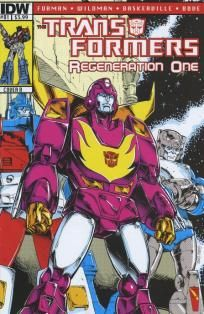 Transformers - Regeneration One #81 Guido Guidi cover b ---> shipping is $0.01 !!!