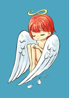 Little Angel Art Print by freeminds Simple Canvas Paintings, Easy Canvas Painting, Angel Drawing Easy, Angel Theme, Angel Artwork, Dibujos Cute, Angel Pictures, Christmas Paintings, Cute Drawings