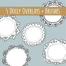 art of doilies clipart - Google Search