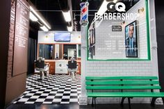 GQ and Fellow Barber Barbershop , Brooklyn – New York