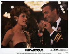 No Way Out. classic with a gorgeous Sean Young and a very young Kevin Costner Kevin Costner, Famous Movies, Cult Movies, 1980's Movies, Young Actresses, Actors & Actresses, 1980s Films, Sean Young, Actresses