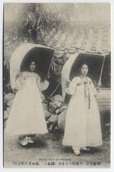 Korean women, 1904.