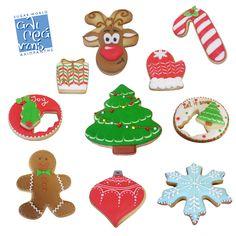 Σεμινάριο Χριστουγεννιάτικα Μπισκότα Christmas Cookies, Products, Christmas Crack, Christmas Biscuits, Christmas Candy, Gadget, Holiday Cookies
