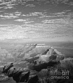 The Grand Canyon from Mather Point, originally shot in Colour but converted to B & W for more effect! #AlexCassels
