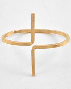 Up Or Down Gold Bangle - Krimson and Klover a Women's Clothing Boutique