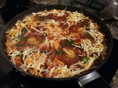 Baked Eggs in a Rich Tomato Chorizo Sauce