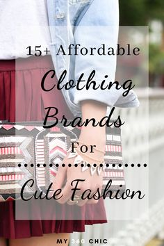 Shop on a budget with these online sites and keep you happily shopping for trendy and fashionable items and outfits with discounted and affordable price tags. #affordableclothing #affordableshoppingsites #affordableshopping #affordablebrands #cutefashion Affordable Clothes, Affordable Fashion, Shop This Look Outfits, Cute Fashion, Womens Fashion, Fashion Tips, Price Tags, Online Sites, Clothing Hacks