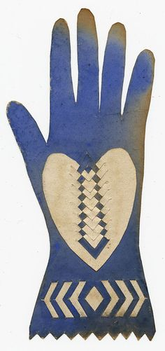 """Heart In Hand"" is a traditional folk art motif, associated with the Shakers, the Amish, the Pennsylania Dutch and the Masonic IOOF (International Order of Odd Fellows).   It was widely considered to symbolize charity, ""from the heart"". The IOOF considered it to represent friendship, love and truth. The process of scissor-cutting such as this is known as Scherenschnitte, an art developed in Germany and Switzerland in the 16th century, brought to America in the 18th century, primarily by sett..."