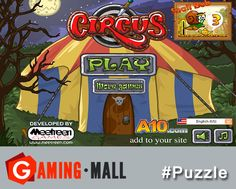 #puzzlegames via #GamingMall..The Circus..An exciting career under the big top could be the death of you..http://ow.ly/zinUk