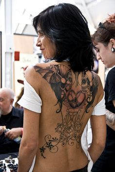Back #tattoo #ink