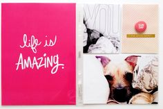 PL14 - July Eight by tracyxo at @studio_calico = love the project life card made into a 6x8 size.