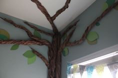 how to make a tree out of papper | The whole tree is made entirely out of paper.