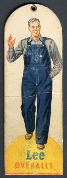 1950's overalls