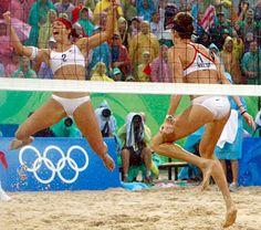 Misty May Treanor and Kerri Walsh, beach volleyball GODS
