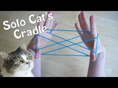Solo Cats Cradle - How to play with only one person! Step by Step - YouTube